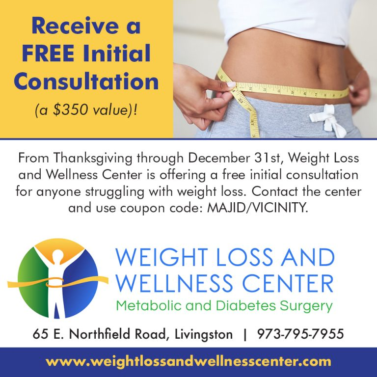 Free Initial Weightloss Consultation Offered By Weight Loss And