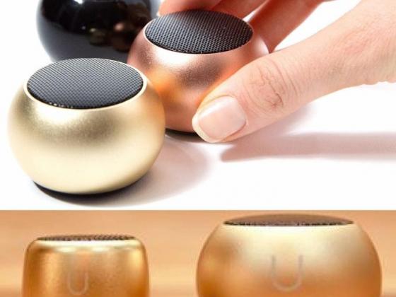 Mini Speakers with Selfie Remote Control