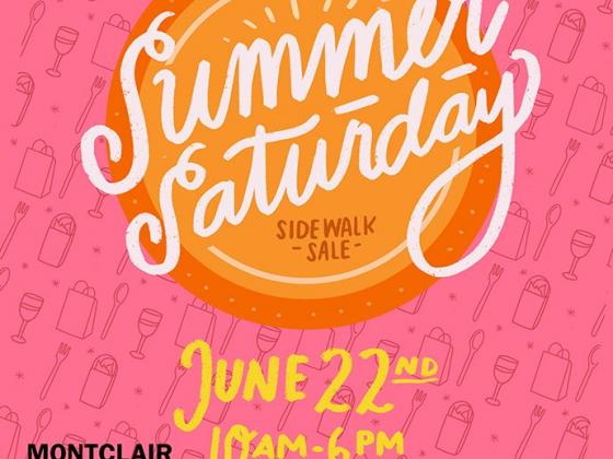 Summer Saturday Sidewalk Sale