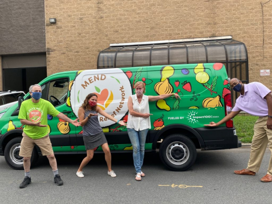 """MEND Launches """"Fresh Food Hub"""" Using Grant from Impact100 Essex"""