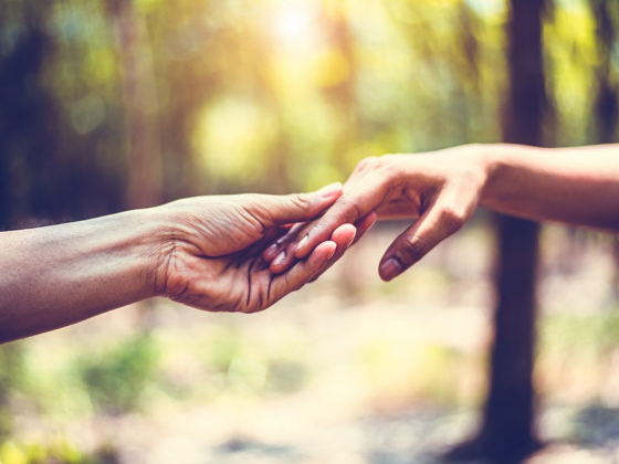 A Helping Hand During Difficult Times