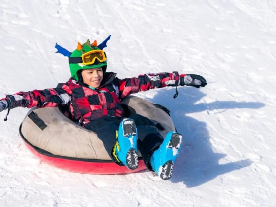 Enjoy Some Fresh Air...While Snow Tubing