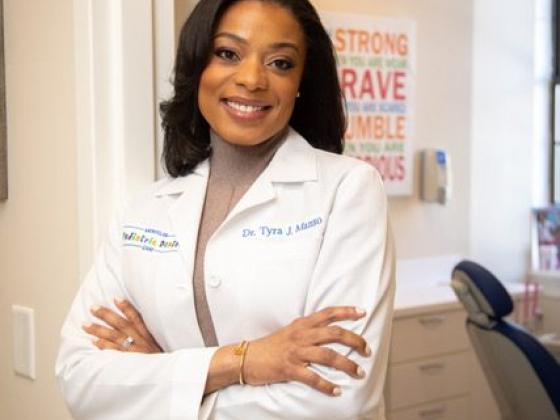 Tyra J. Manso, A Trailblazer in Pediatric Dentistry